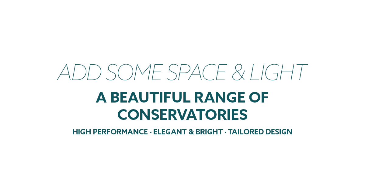 Conservatories - add some space and light